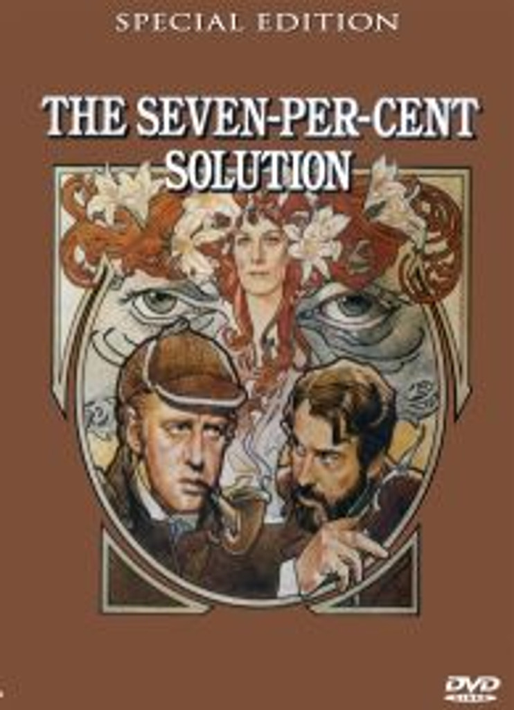 Seven Percent Solution Robert Duvall Remastered Widescreen Edition Dvd