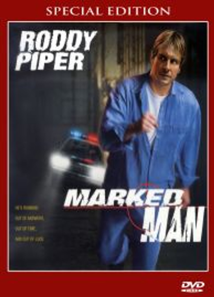 Marked Man Roddy Piper Very Rare! DVD