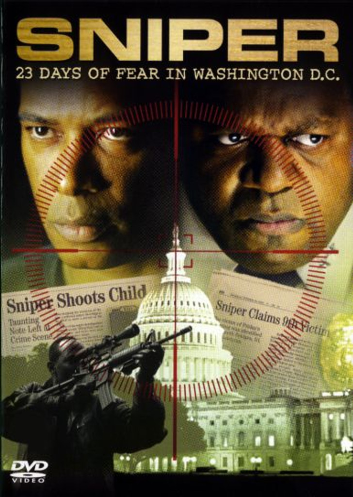 Sniper 23 Days of Fear in Washington D.C. Playable All-Regions Dvd