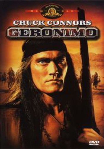 Geronimo Chuck Conners 1962 Playable All-Regions Dvd