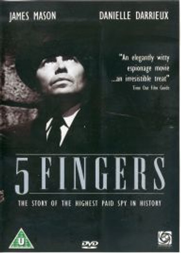 5 Fingers James Mason DVD