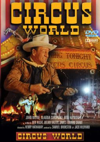 Circus World John Wayne Digital Remastered Widescreen Edition Dvd