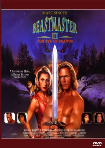 Beastmaster 3 The Eye of Braxus DVD