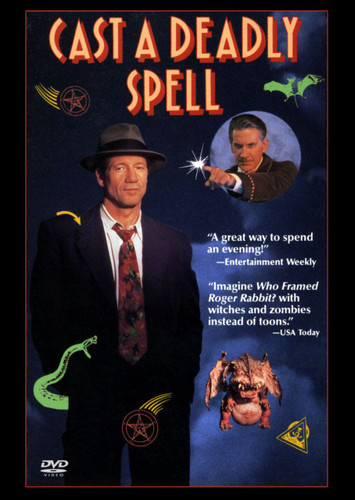 Cast  a Deadly  Spell DVD