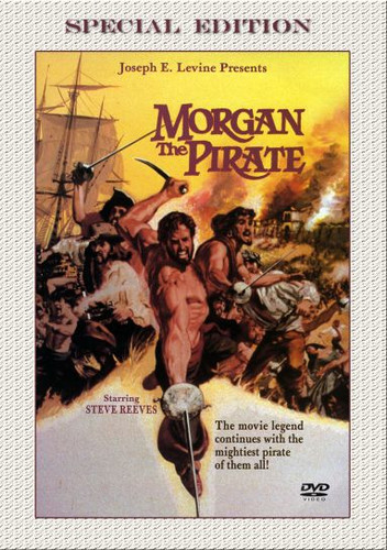 Morgan, The Pirate Dvd