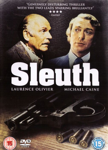 Sleuth Michael Caine 1972 DVD