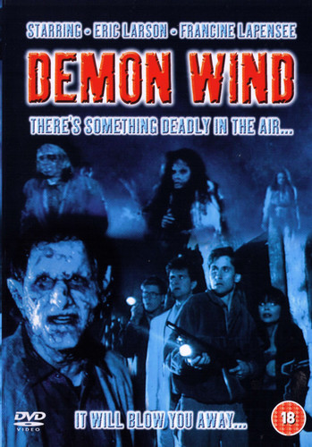 Demon Wind Uncut DVD