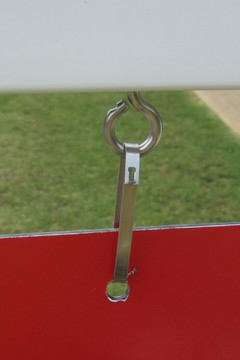 Stainless Steel Hanging Hardware - Included