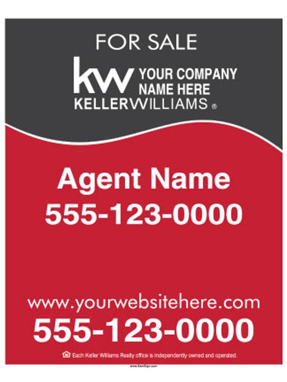 Keller Williams - Hanging Sign – 30″T X 24″W