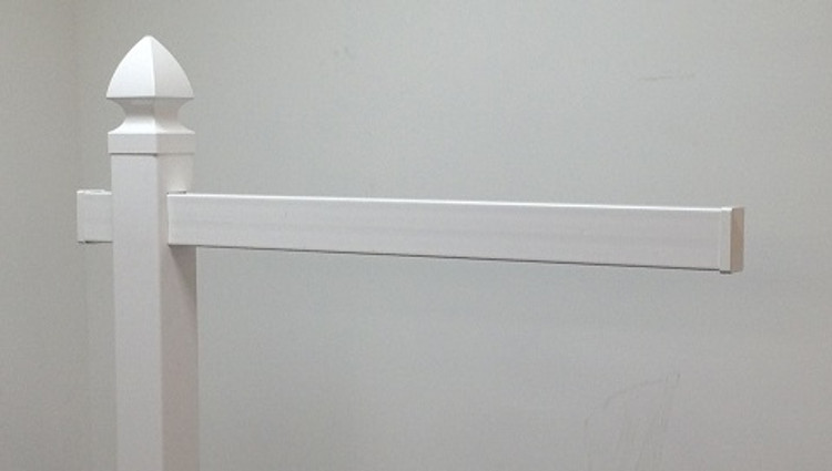 "47"" Replacement Arm - White"