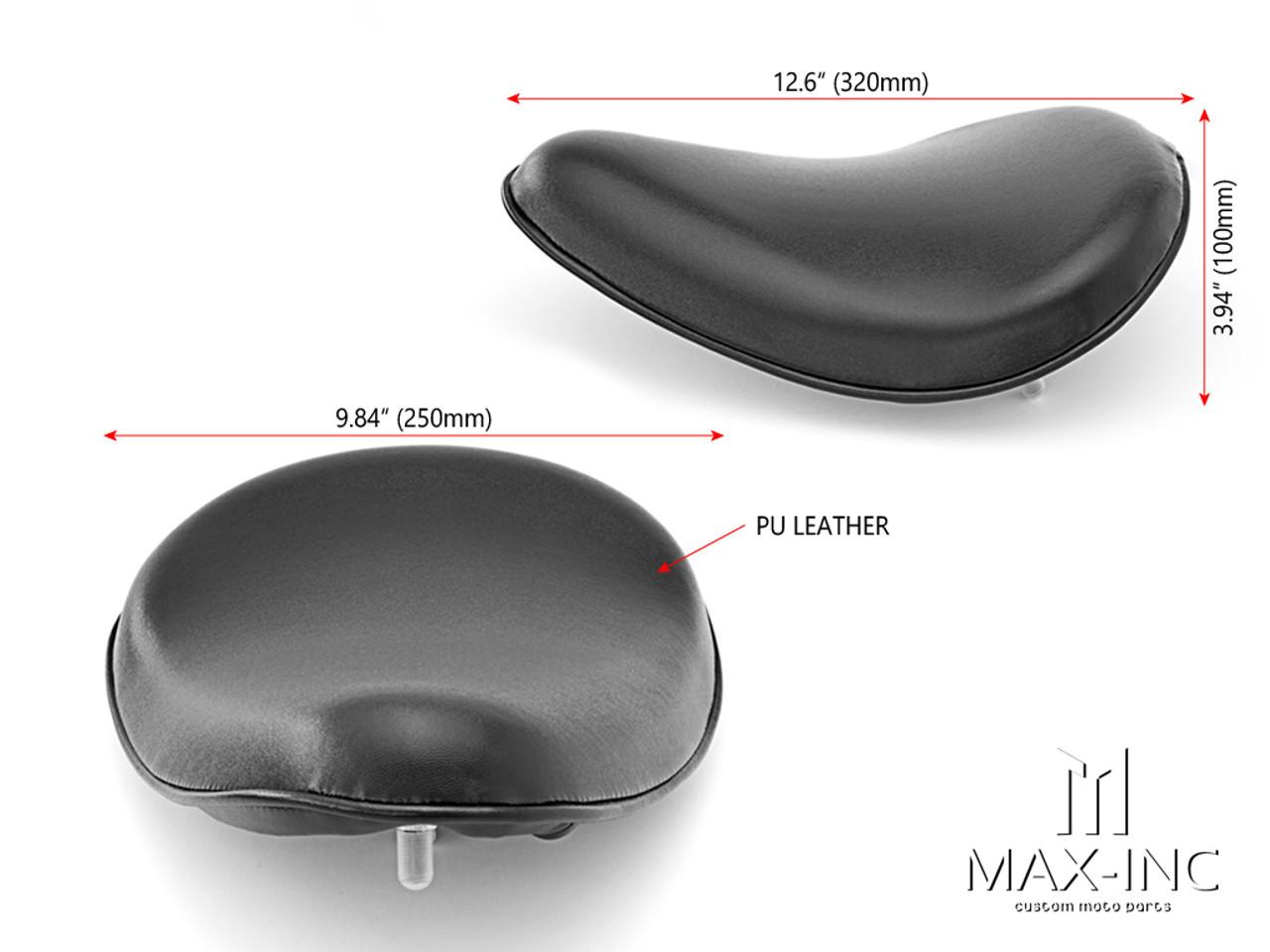 Black Universal Custom Old Skool Single Saddle Seat