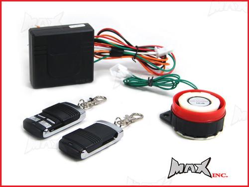 Universal 12v Non-Intrusive Motorcycle Compact DIY Alarm System