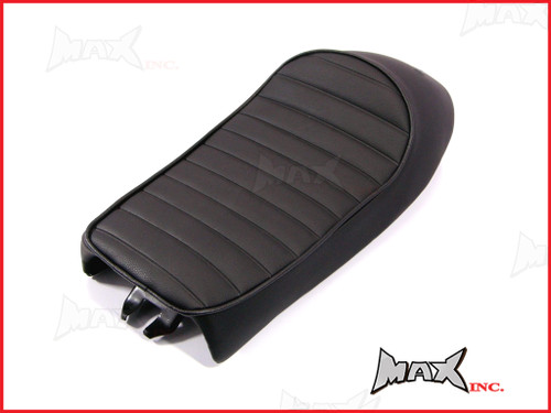 High Quality Black Universal Cafe Racer Sportster Motorcycle Seat