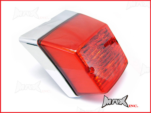 Vespa PX Series High Quality Chrome Retro Style Tail Light - EMARKED