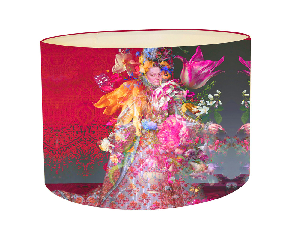 Lampshade - Infanta with Tulips