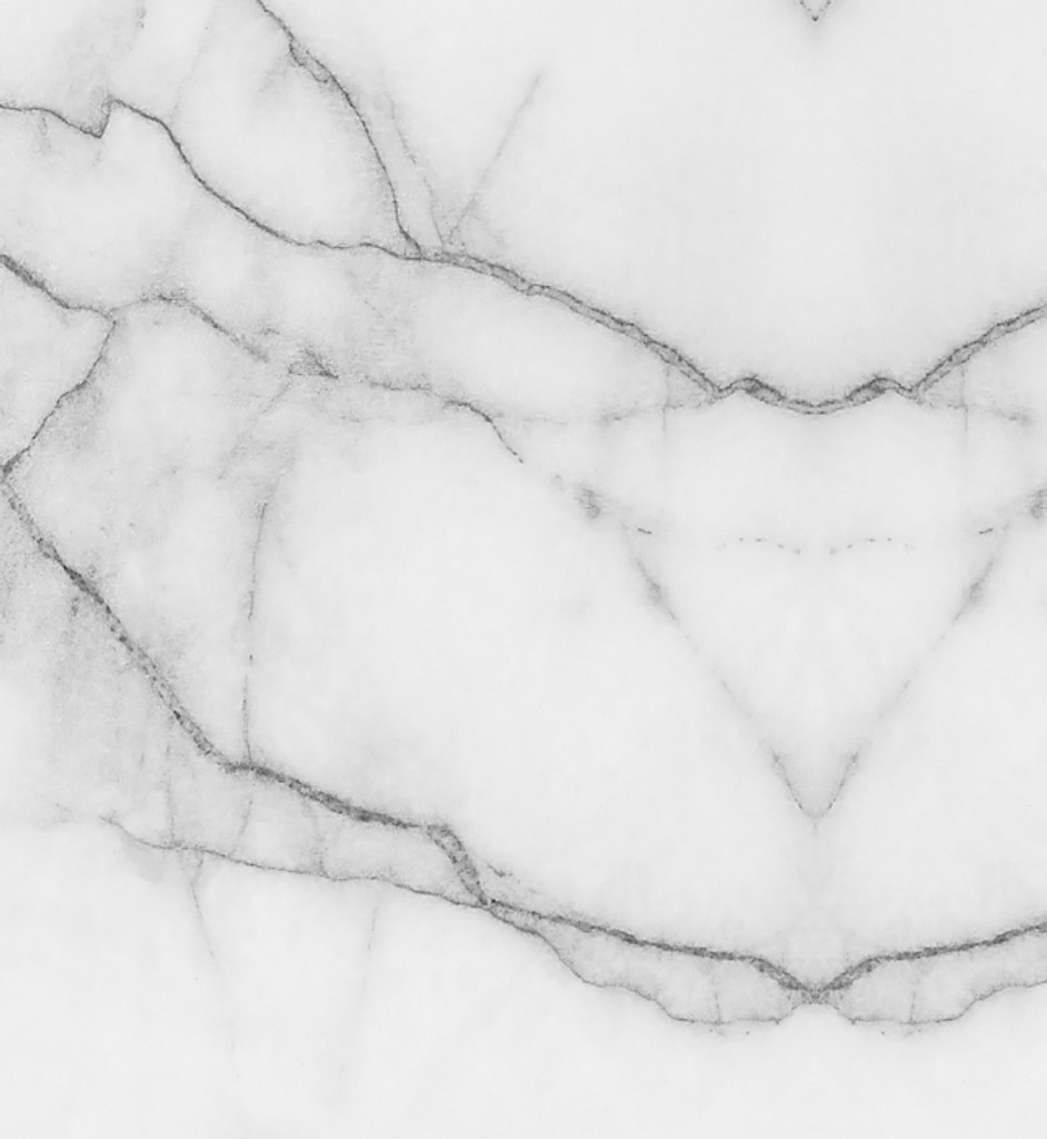 Wallpaper - Marble - Grey and White