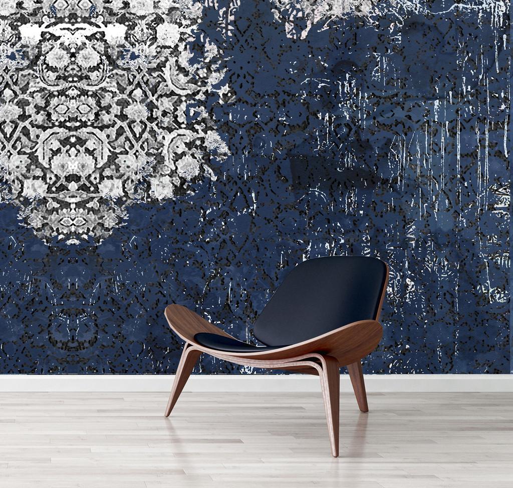 Wallpaper - Broken Blue