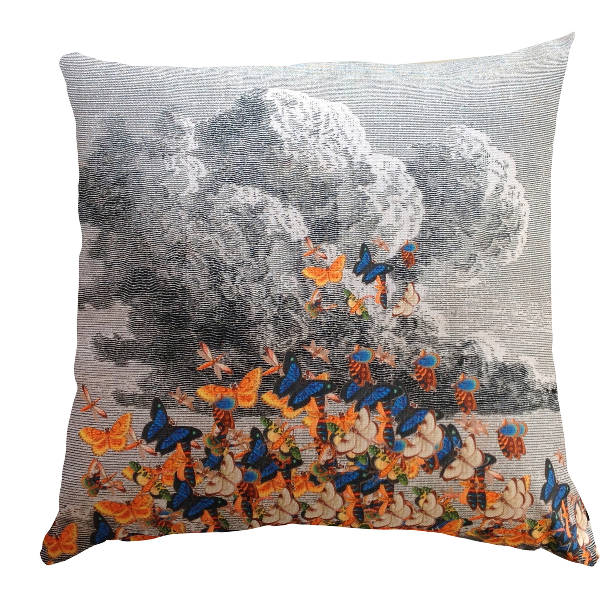 Cushion - Butterfly Storm