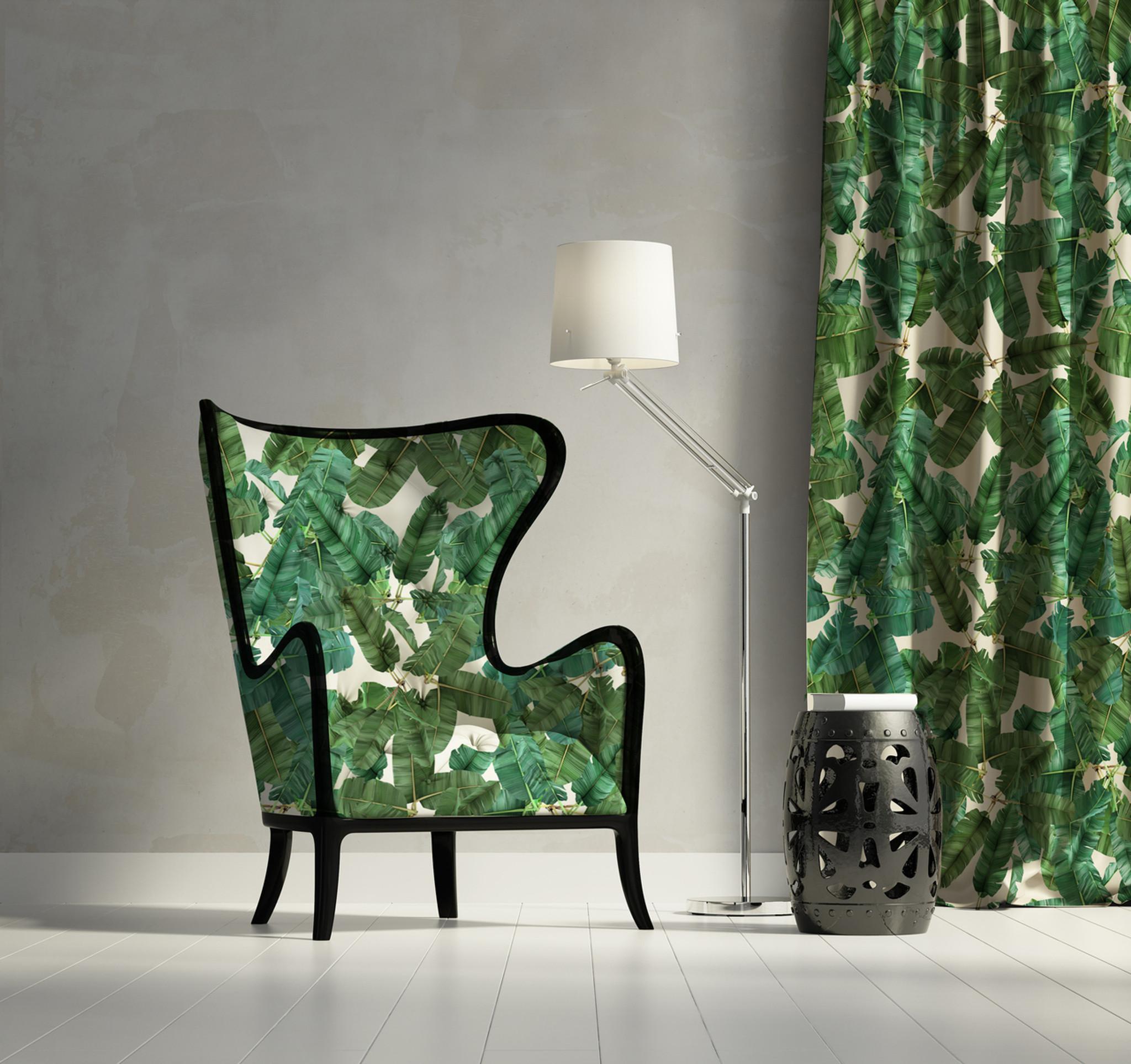 Fabric - Jungle Leaves