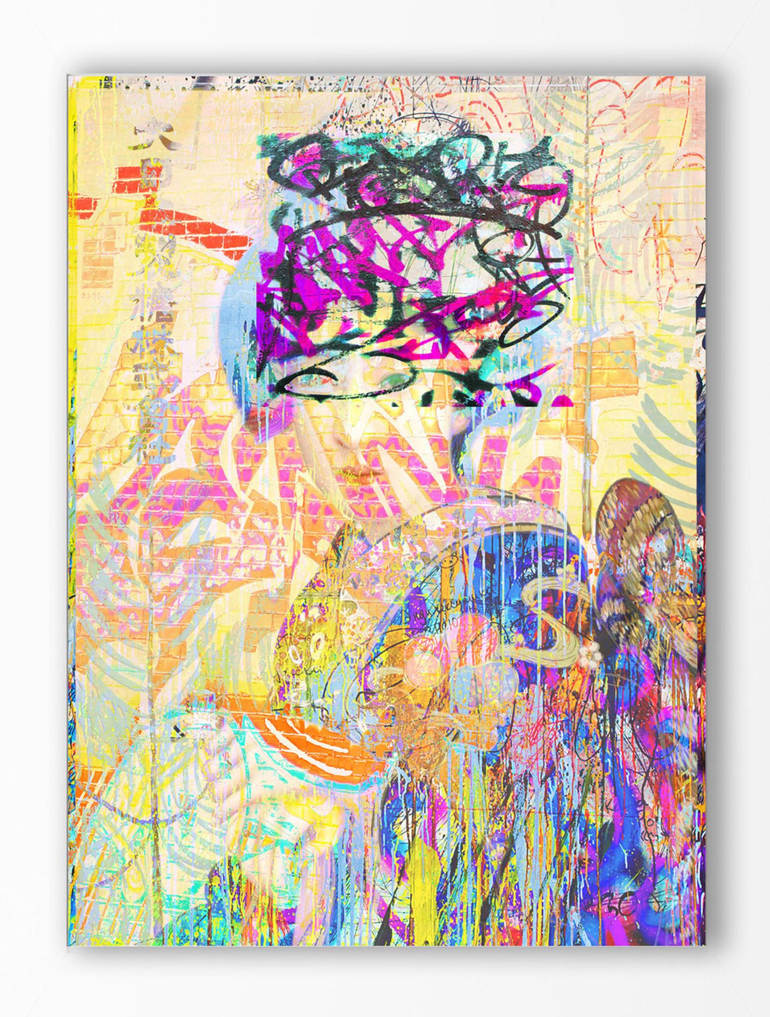 Art Print - Graffiti Yum Yum
