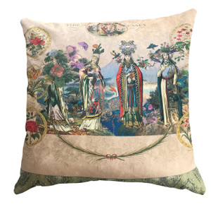 Cushion - Fancy Floral Remix