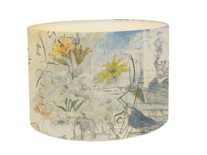 Lampshade - Urban Sketches - Moulin Girls