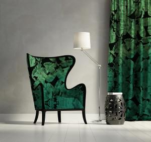 Fabric - Jungle Noir - Green