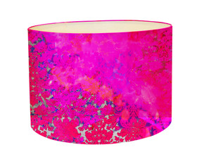 Lampshade - Colour Crash - Fushia Splash