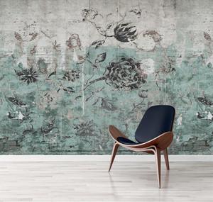 Wallpaper - Botanical Graffiti
