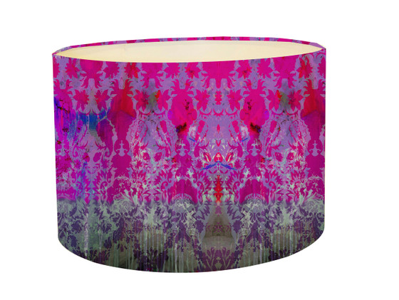 Lampshade Colour Crash Magenta Kerrie Brown