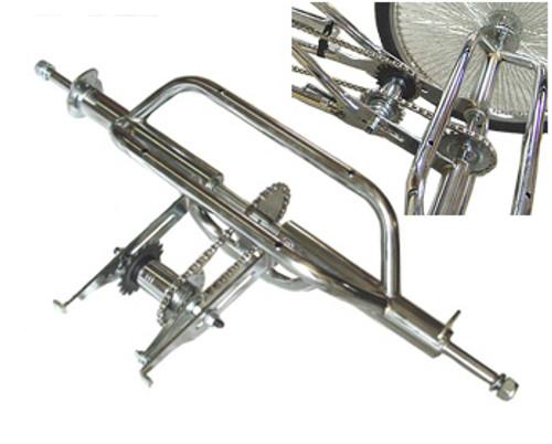 Use Hollow Hub Black Lowrider 3 Wheel Conversion Kits Use