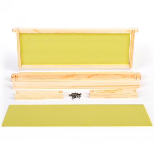 Kit - Medium Frames with Plastic Foundation 10 pack