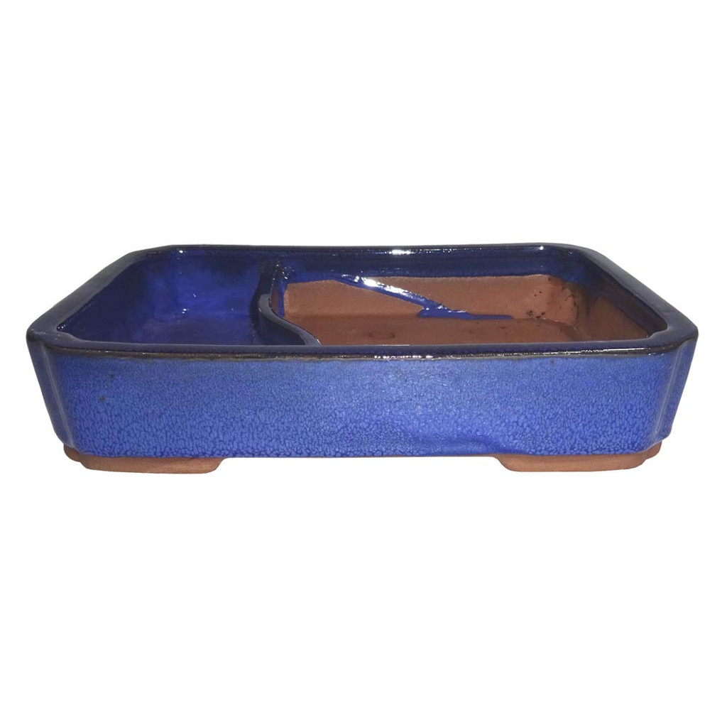 "10"" Glazed Land/Water Container CGLWLG6-10BL"