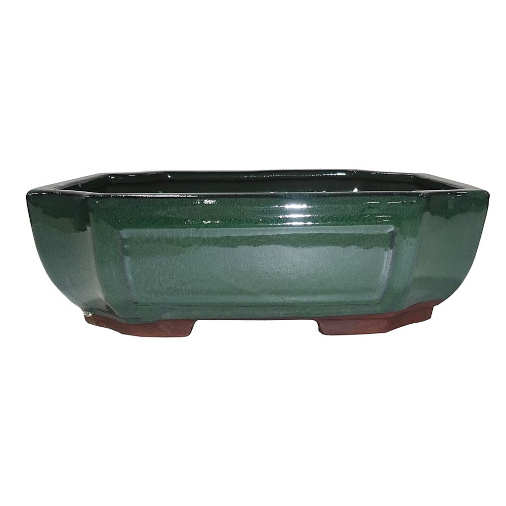 """10"""" Glazed Rectangle Container CGG118-10FG"""