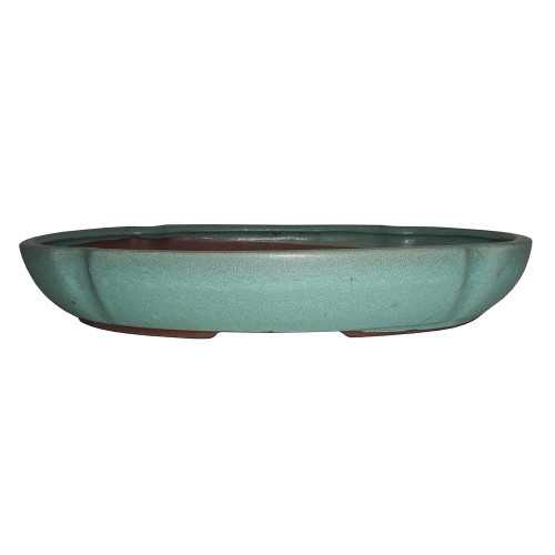 Glazed Oval Container CGI33-123#