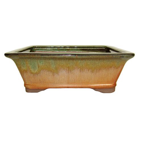 Rectangle Bonsai Container CGG93-10IR+GN