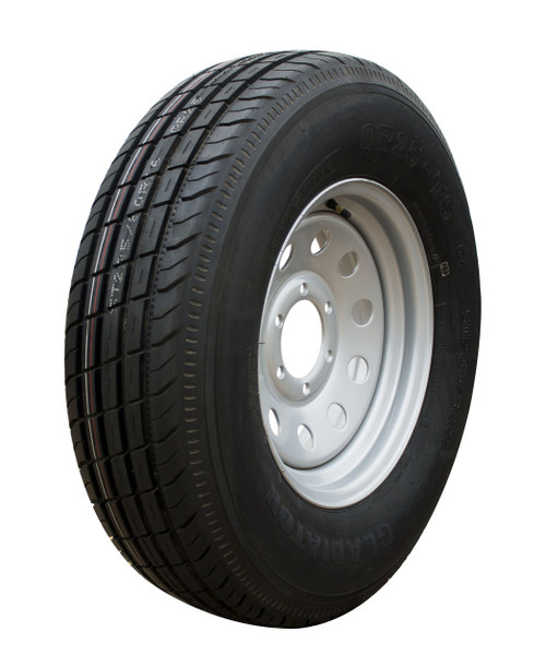 Tire Assy 235/80 R-16 Radial w/16 x 6 655 S Offset 0
