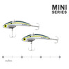 SteelShad Mini - 1/4 oz - Sexy Shad (2pk)
