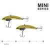 The SteelShad Mini Series - Gold (2pk)