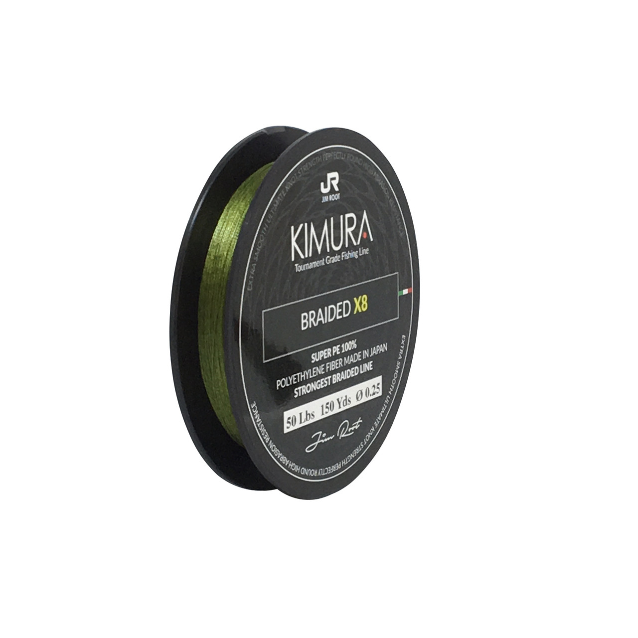 SteelShad Kimura Fishing Line - Braided x8