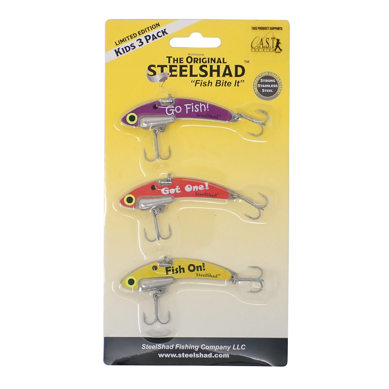 SteelShad Kids 3 Pack