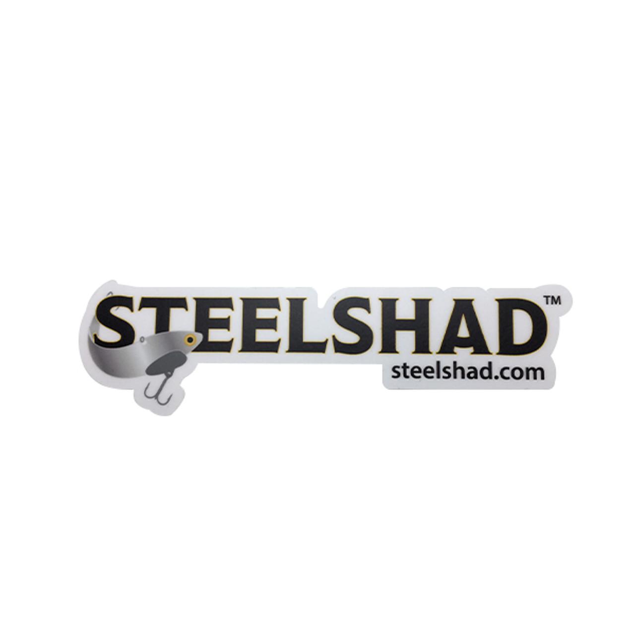SteelShad Logo Sticker - Large