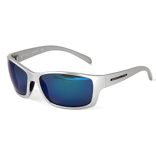 Breakline Polarized Cahaba - Jim Root Edition- Metallic Frame/Blue Mirror Lens Sunglasses