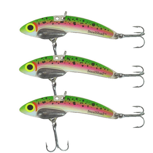 Original SteelShad - 3/8 oz - Trout - 3 Pack