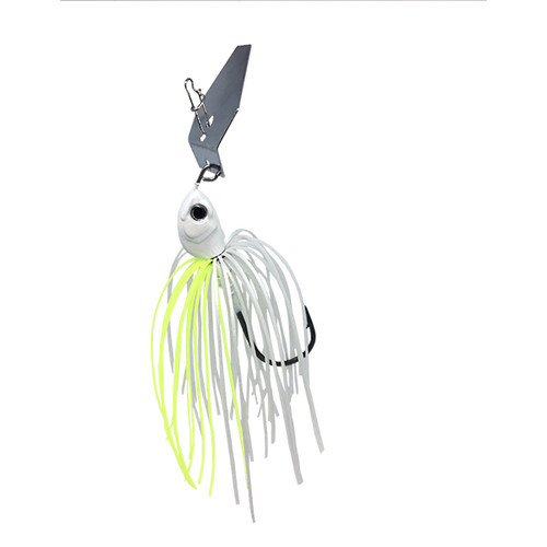 SteelShad Bladed Jig - White & Yellow