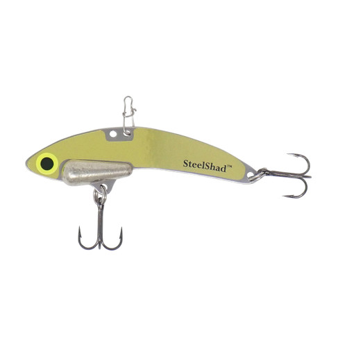 SteelShad Elite Series - 3/8 oz. - Gold - Tin Weight, Line Clip, #6 Black Nickle Hooks