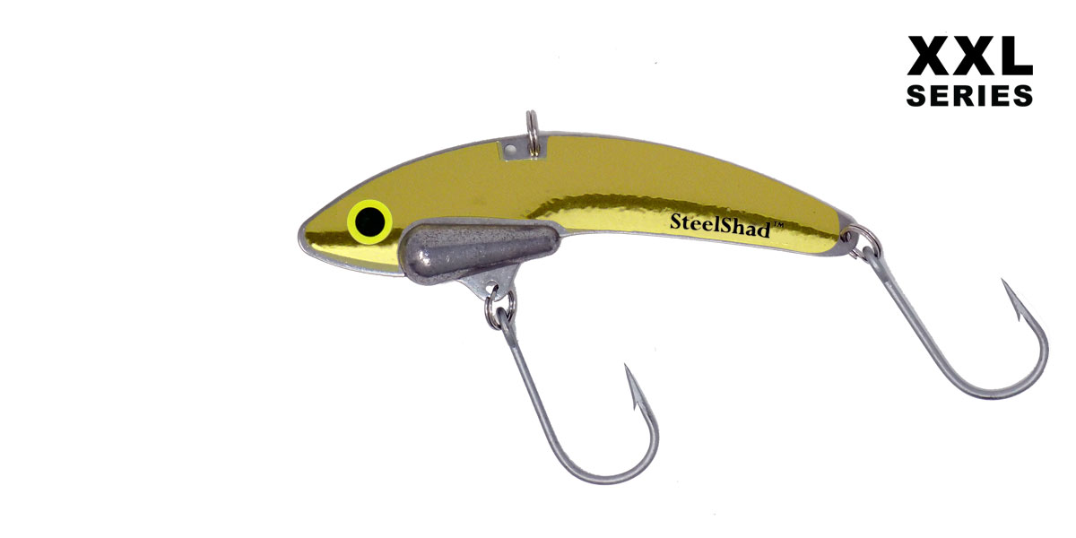 SteelShad XXL - Musky, Tuna, Red Fish, Fresh or Salt Water - Fish Bite It!