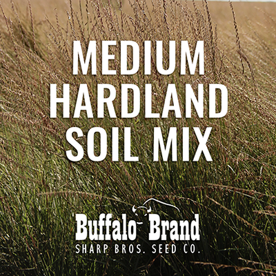 Medium Grass Mix - Hardland Soil