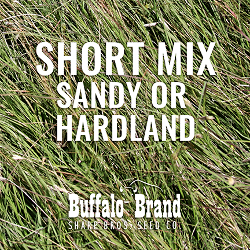 Short Grass Mix - Sandy or Hardland Soils
