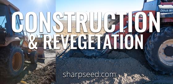 Construction/ Engineering Revegetation